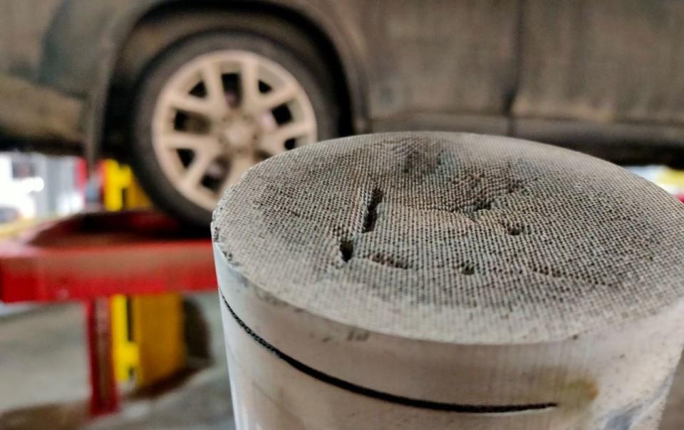 Особенности поведения Kia Sportage при забитом катализаторе