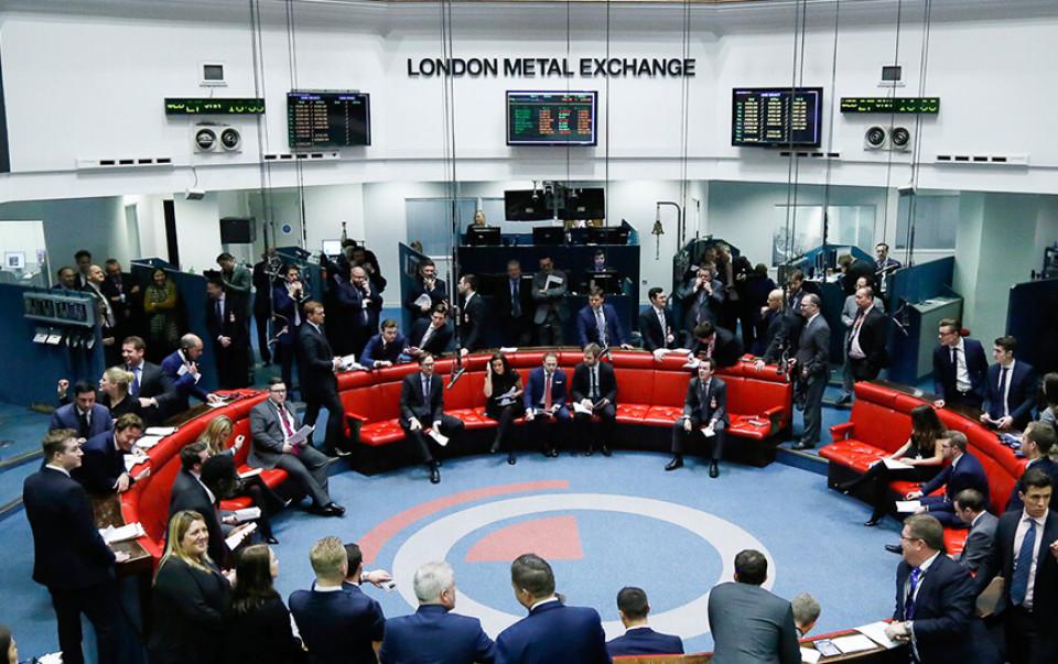 Биржа металлов LME