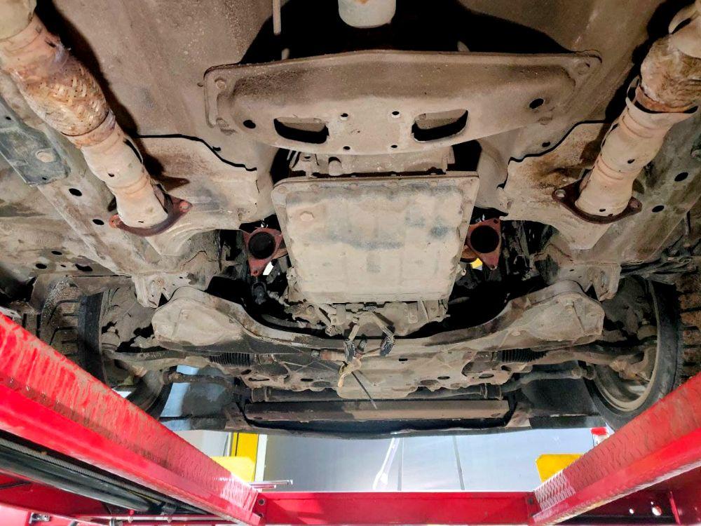 Устройство катализатора автомобиля и его снятие