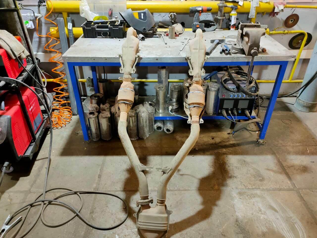 Причины установки пламегасителя вместо каталитического нейтрализатора