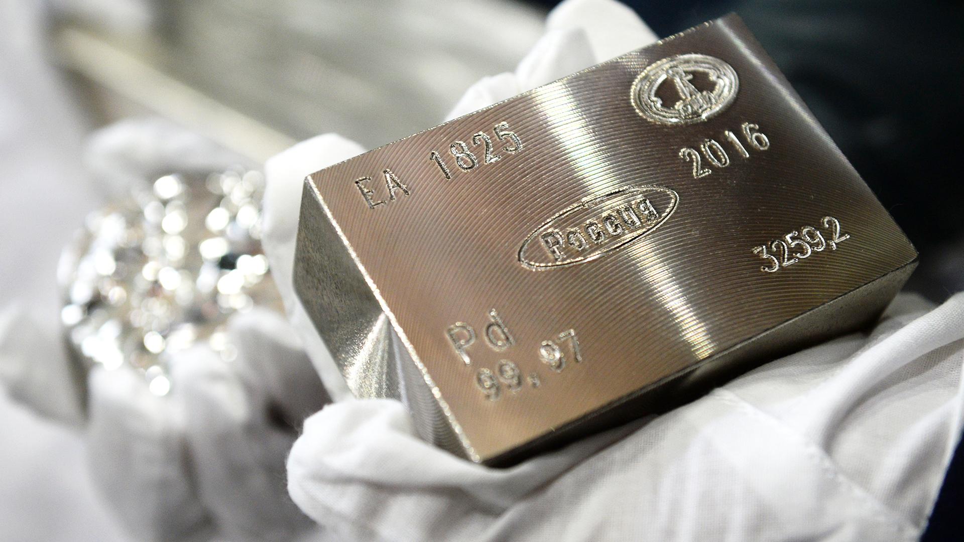 Ценные металлы в катализаторе