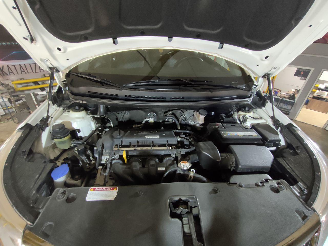 Современный катализатор в автомобиле